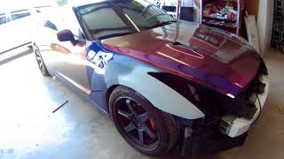 GTR repair after fender bender ( painting bodywork )
