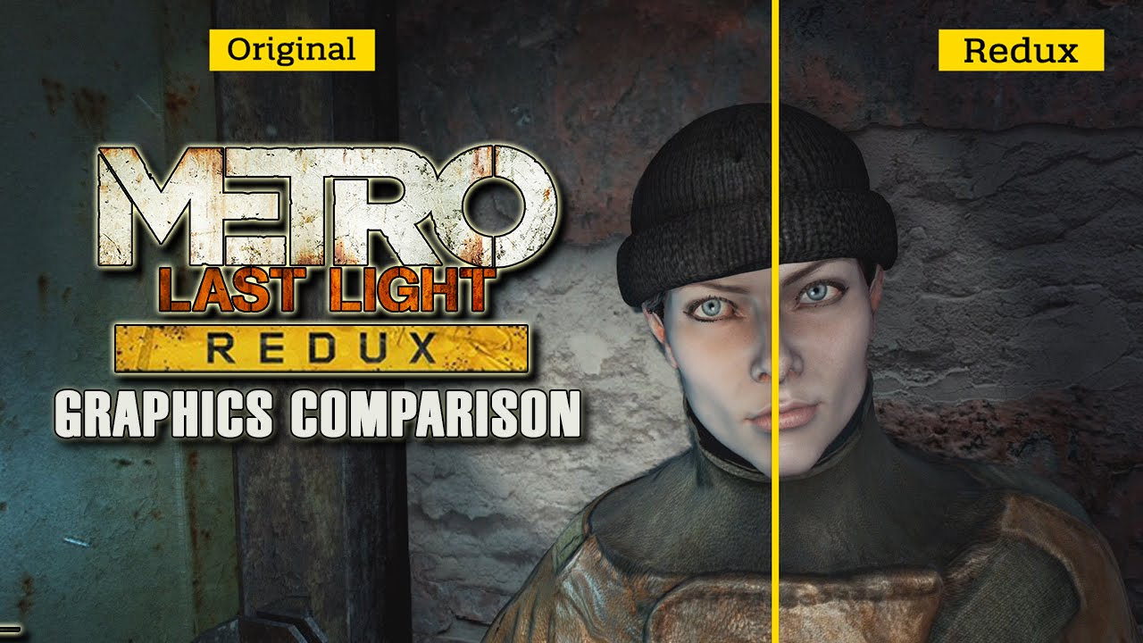 Metro Last Light Wallpaper Hd Metro Last Light Redux Graphics Comparison Youtube