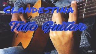 Lartiste - Clandestina ( Tuto Guitar by Salim En )