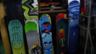 국내 유일 중고 스키 스노우보드 창고형 매장