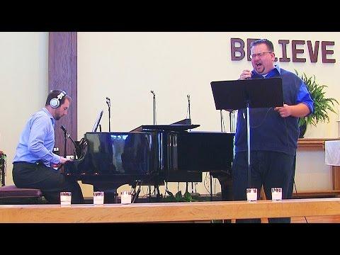 """Precious Lord"" Andy Wyosnick & John Ivan (piano)"