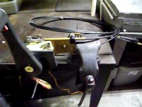 Sold Control Box Shifter Johnson Evinrude Omc Boat Motor