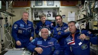 Expedition 51-52 Crew Welcomed Aboard the Space Station