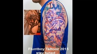 Beautiful Poison Ivy tattoo by Fluntboy (Timelapse Tattoo )