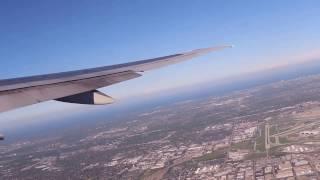 一年以上前に撮ったシカゴ国際空港離陸時の動画です 当時はカメラを使い...
