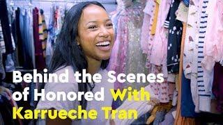 Behind the Scenes of Honored With Karrueche Tran