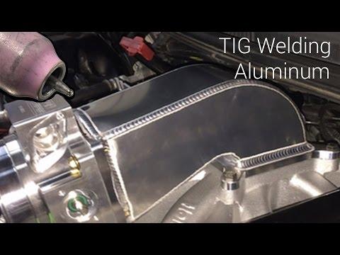 Tig Welding An Aluminum Intake Elbow Throttle Body Adapter