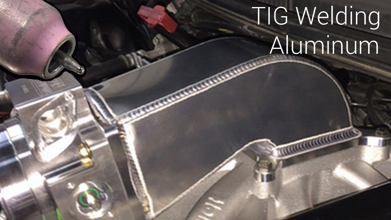 Tig Welding Aluminum Fabrication Intake Elbow Http Www