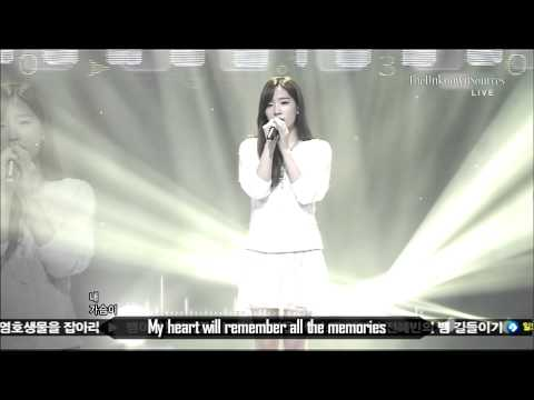 Taeyeon (SNSD) - Closer (Sep 16, 2012)(English Subbed & Remastered Audio).