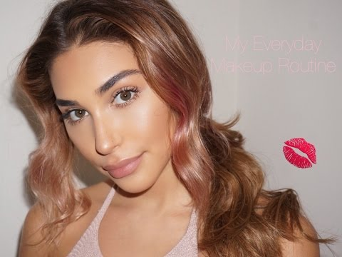 Everyday Makeup Routine- Chantel Jeffries