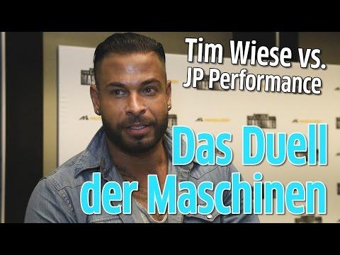 Das Duell der Maschinen - Tim Wiese will JP fertig machen