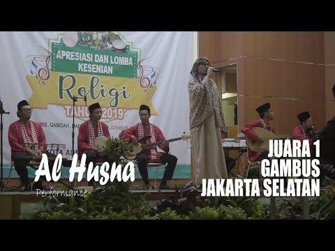 Festival Gambus Jakarta Selatan Al Husna Juara 1(Marhaban & Ana Habaitak)