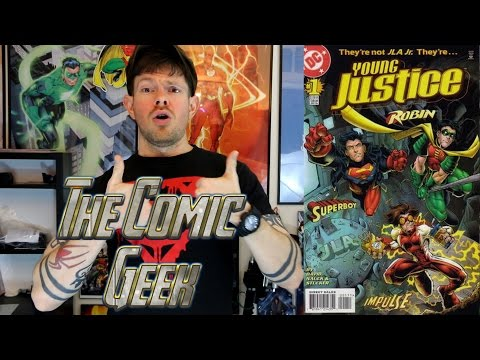 Young Justice - DC Comic Book Series Review