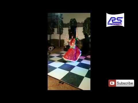 PIYA LA DE GHADA KE MUJHE JHANJHARIYA || RAJPUTI BAISA ROYA L DANCE || RAJASTHANI GHOOMAR DANCE