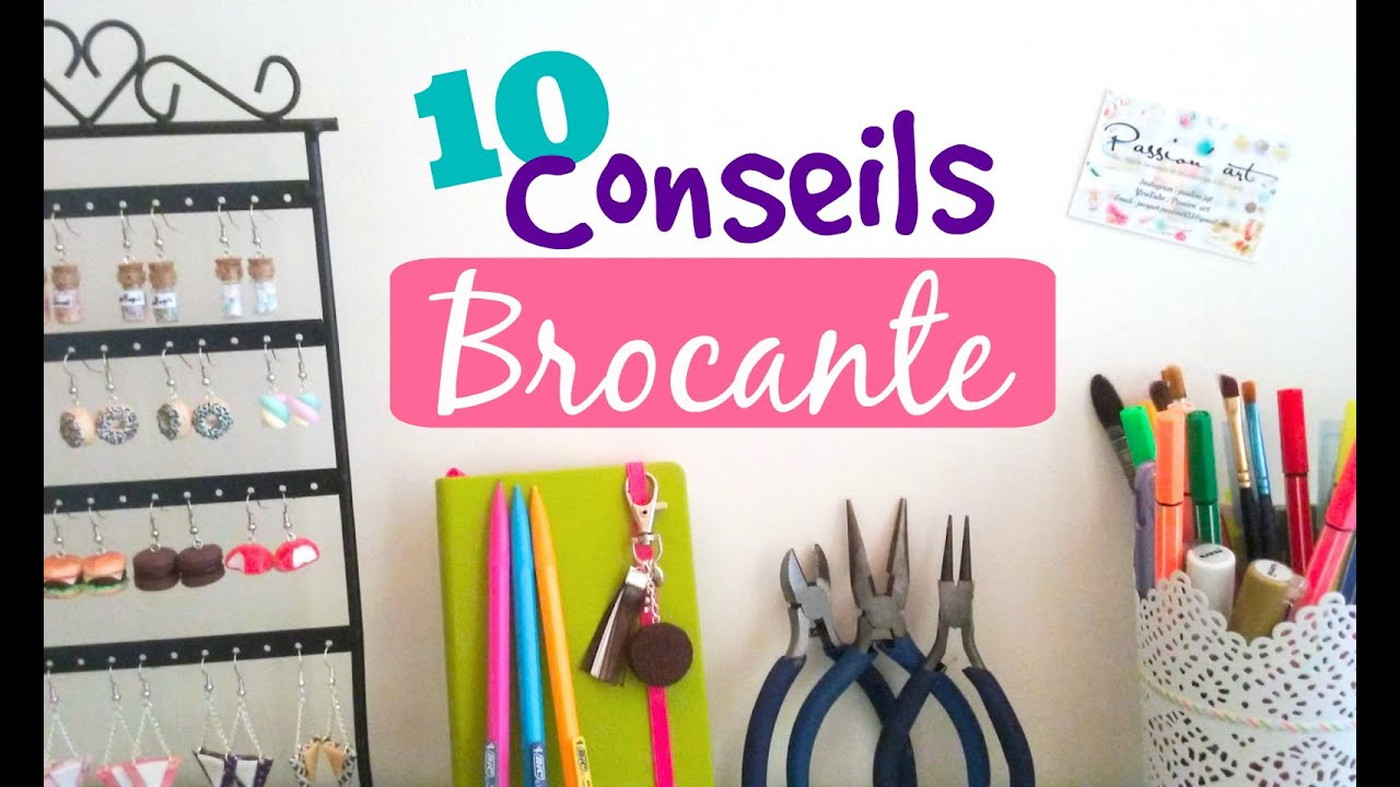 10 conseils pour r ussir une brocante fimo comment cr er ses cartes de visites youtube. Black Bedroom Furniture Sets. Home Design Ideas
