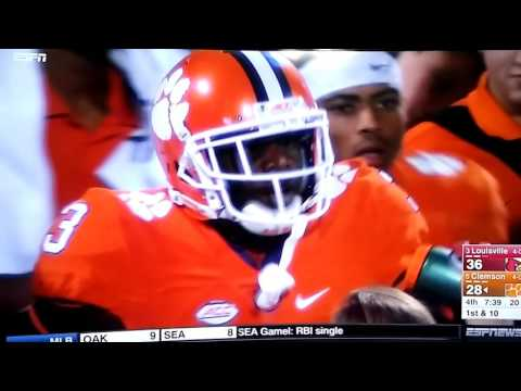 #5 Clemson Vs #3 Louisville Highlights | College Football | October 1, 2016