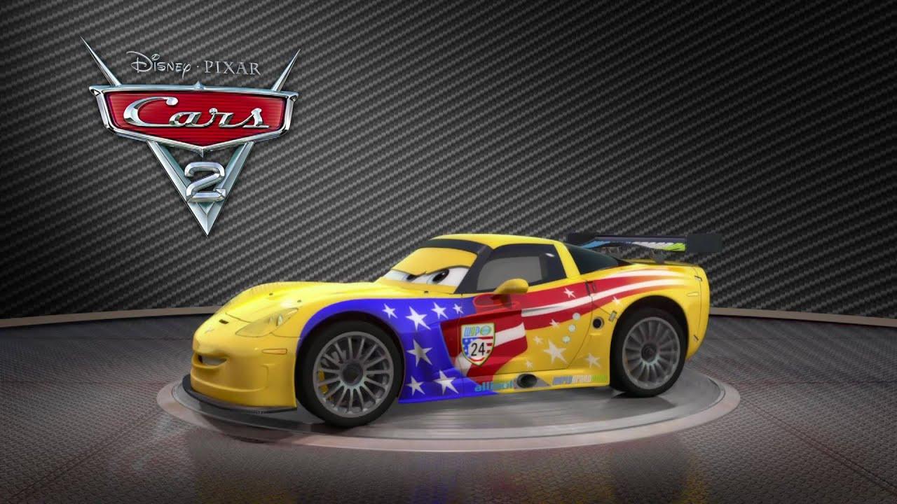 jeff cars gorvette disney pixar dvd blu ray