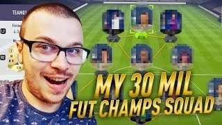 30 MILLION COIN SQUAD in FIFA 18 ULTIMATE TEAM! BEST POSSIBLE TEAM EVER!