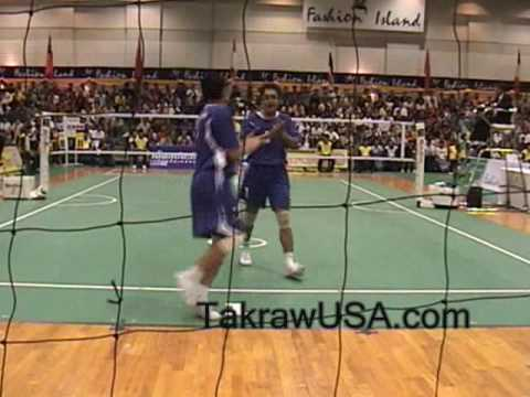 Korea Vs Thailand: Sepak Takraw Doubles , Final Match 2007