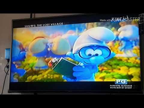 Kapuso Movie Festival:Smurfs:The Lost Village (2017) - Papa Smurfs & Smurfette Save The Day Scene