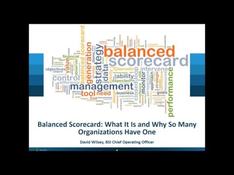Balanced Scorecard: What It Is and Why So Many Organizations Have One