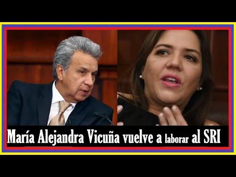 NOTICIAS DE HOY ECUADOR 28 DE DICIEMBRE 2018   María Alejandra Vicuña vuelve a laborar al SRI !