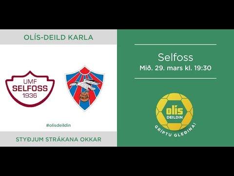 Selfoss Tv (Selfoss-Valur) Olís-deild karla 29.3.17
