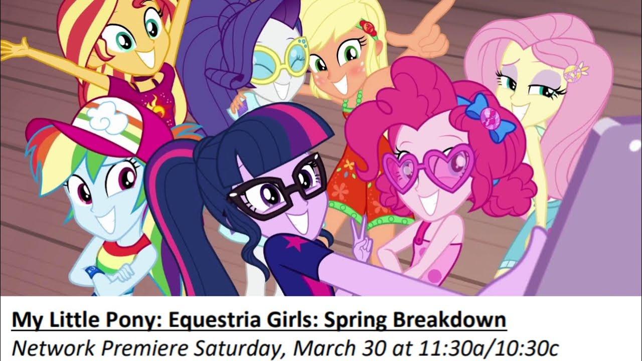 MLP: FiM Equestria Girls: AppleJack is Sea Sick (Clip