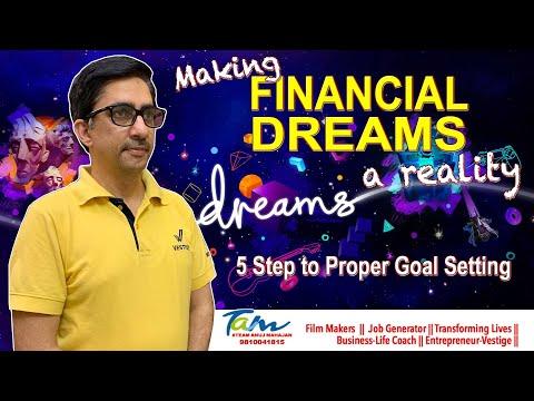 #vestige-making-#financialdreams-a-reality||-5-step-to-proper-#goalsetting-||-#tonyrobbins-#dreams