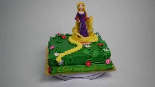 Торт на заказ с принцесой Рапунцель (Tortlend.ru)
