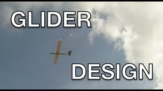 Rc Glider - Design And Maiden Flight