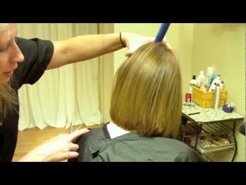 Layered Bob Haircut With Texture Hair Tutorial Youtube