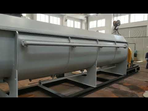 Magnesium Hydroxide Hollow Blade Drying Machine