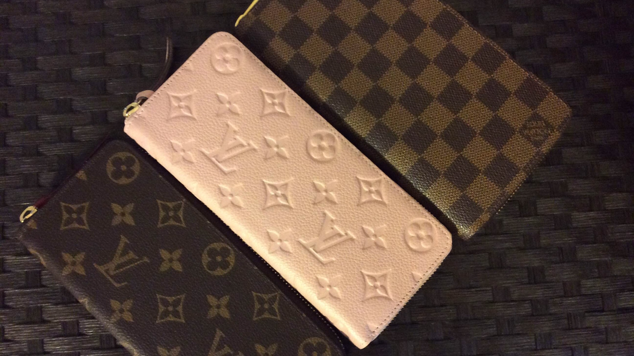 8ac26cbf2fdb8 Louis Vuitton Zippy and Clemence Wallets!! Review and comparison! Both  Empriente and Canvas!
