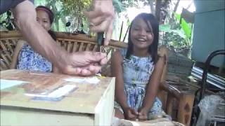 SHOCKING COMPLICATED BALIKBAYAN BOX FROM ENGLAND WITH A DIED  POISONOUS ANIMAL INSIDE