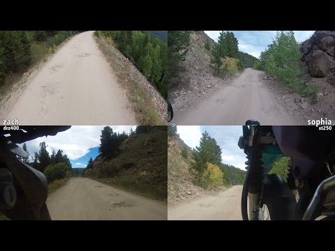 Rollins Pass, CO - Moffat Tunnel to Needle's Eye on two bikes in 4K