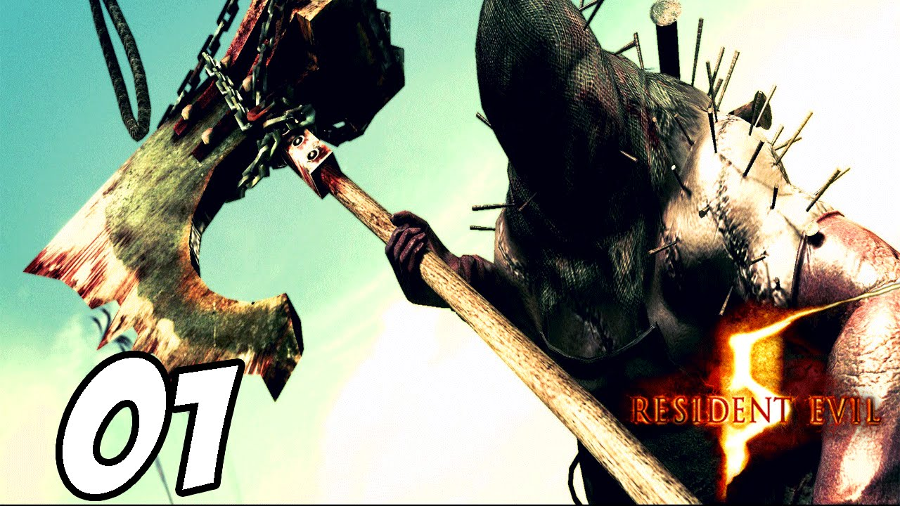 Resident Evil 5 Part 1 Executioner Boss Fight Youtube