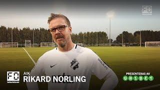 FÖRSÄSONG MED FD: Rikard Norling (AIK)