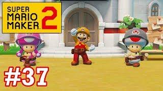 Super Mario Maker 2 Story Mode - EP37 - Rotten Produce & Koopa Clown Car Coin Collecting