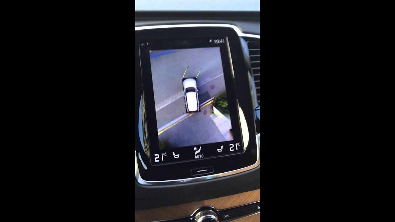 Volvo XC90 360 camera - YouTube