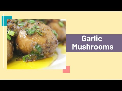 how-to-cook-garlic-mushrooms-|-very-easy-and-quick-side-dish-recipe