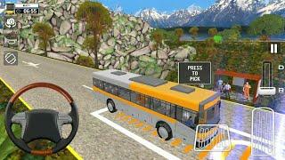 Bus long road driving mobile games