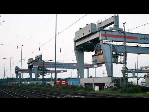 Cologne Eifeltor Freight Gateway - Crane Operations