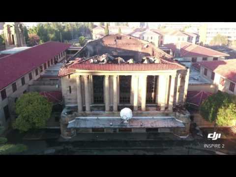 Bloemfontein City-Hall destroyed