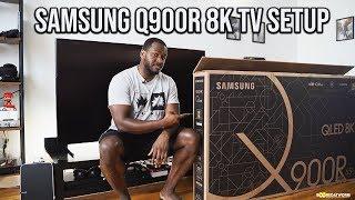 Samsung Q900R 8K TV Setup // Amazing!!!