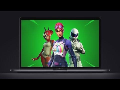 Fortnite On Mac - Running On A 2018 MacBook Pro!?
