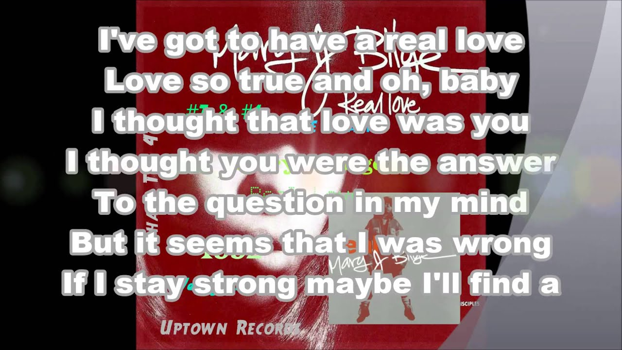 Real Love Lyrics