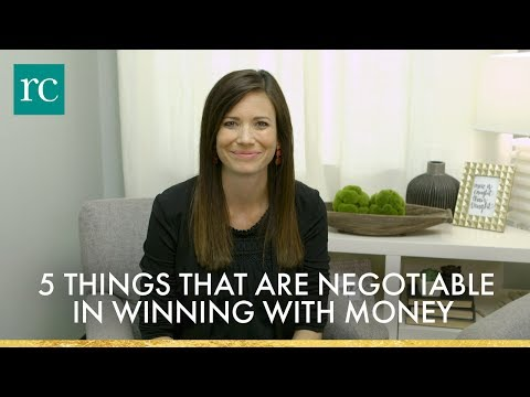 5 Things That Are Negotiable in Winning With Money