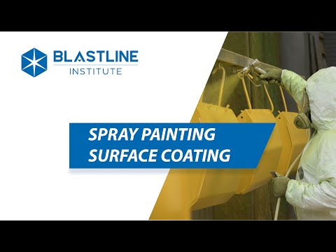 Spray Painting Surface Coating | Blastline Institute