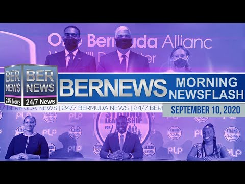 Bermuda Newsflash For Thursday, Sept 10, 2020